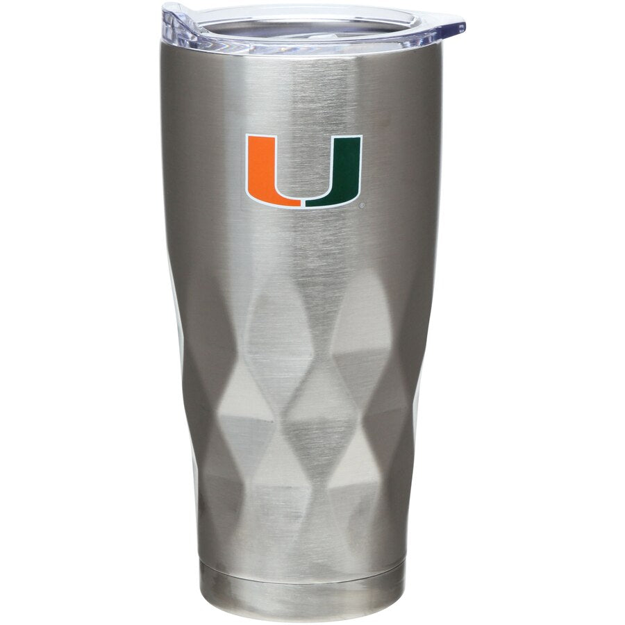 Miami Hurricanes 22 oz Diamond Tumbler