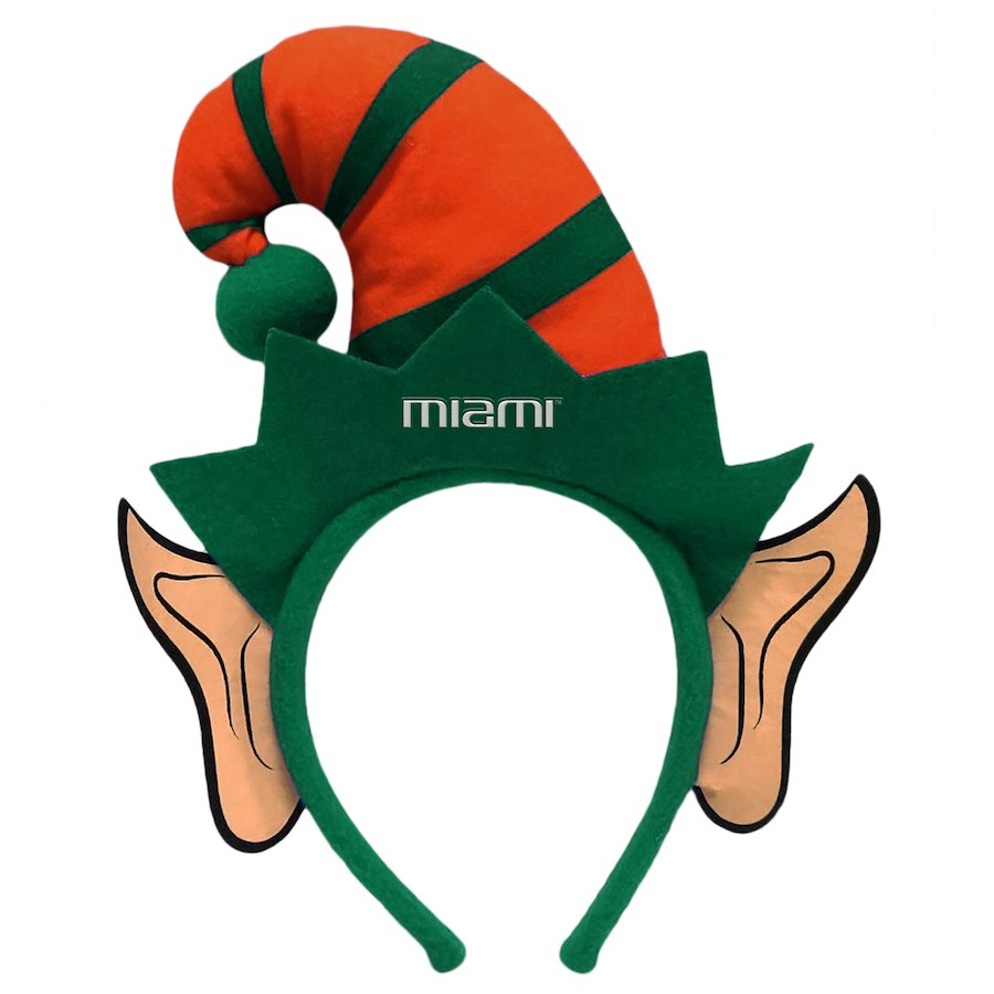 Miami Hurricanes Elf Ears Headband