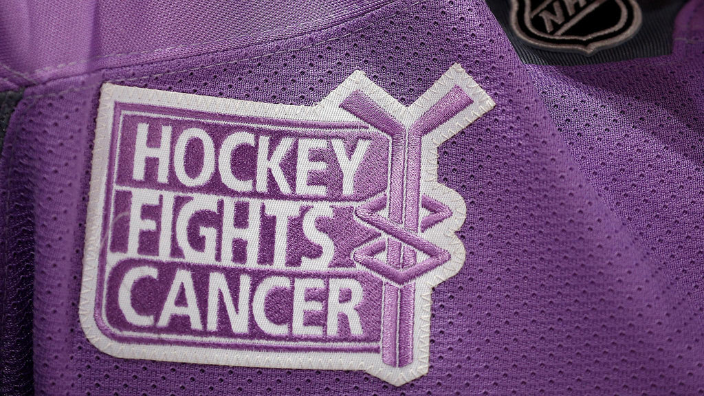 Florida Panthers U Health Hockey Fights Cancer Jersey