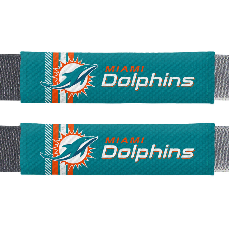 Miami Dolphins Seatbelt Pads - Rally Design