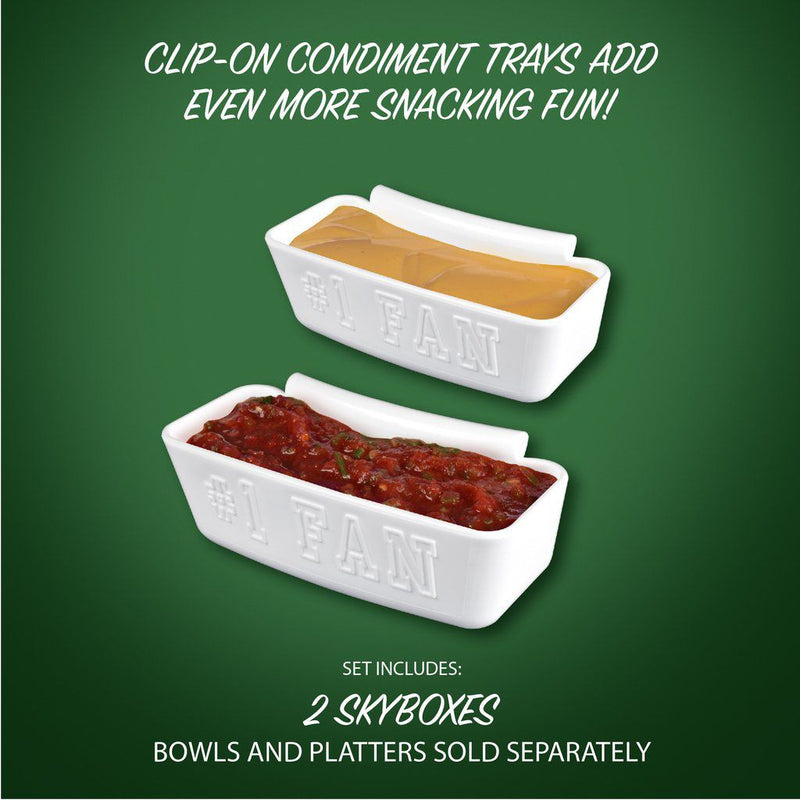 Skyboxes - Condiment Trays (2 Pack)