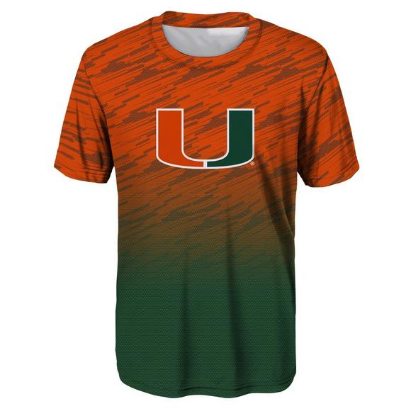 Miami Hurricanes Youth Stadium Performance T-Shirt