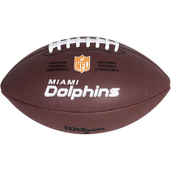 Miami Dolphins Wilson Official Composite Replica Football
