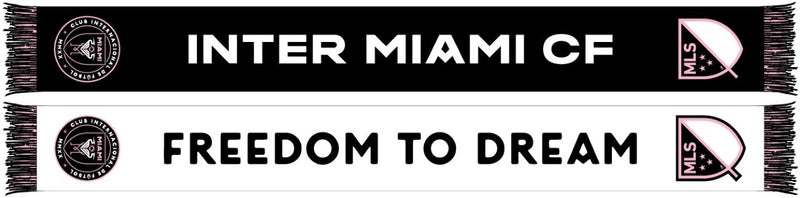 Inter Miami CF MLS Ruffneck Soccer Summer Scarf - Freedom to Dream