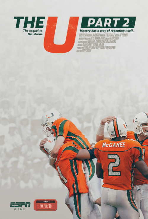 The U Part 2 Blu Ray/DVD Set - Includes Part 1 - CanesWear at Miami FanWear Tangible Miami FanWear CanesWear at Miami FanWear