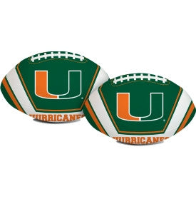 Miami Hurricanes Softee Football - CanesWear at Miami FanWear Balls Prizes CanesWear at Miami FanWear