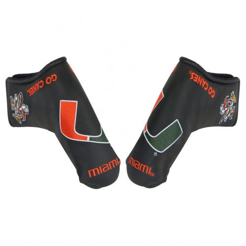 Miami Hurricanes Blade Putter Golf Headcover
