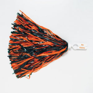 Miami Hurricanes Cheerleading Pom Poms - CanesWear at Miami FanWear Accessories Wincraft CanesWear at Miami FanWear