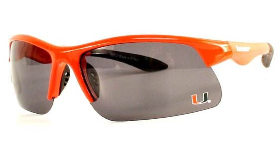 Miami Hurricanes Polarized Sunglasses - Orange