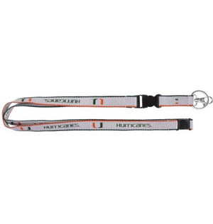 Miami Hurricanes Ultratech Lanyard - CanesWear at Miami FanWear Accessories Aminco CanesWear at Miami FanWear