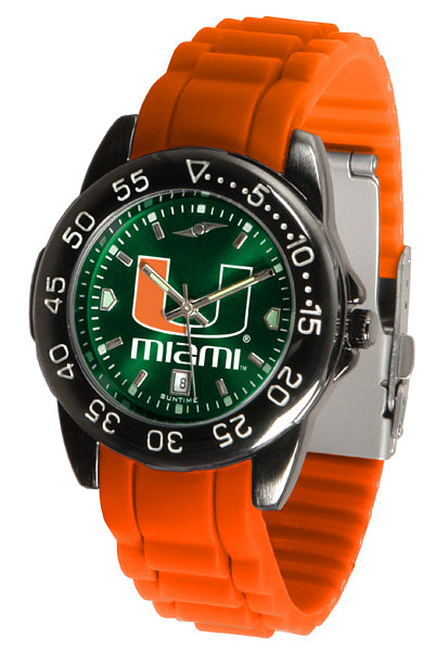 Miami Hurricanes FantomSport AC AnoChrome Watch
