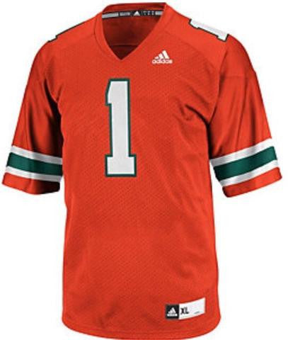 Miami Hurricanes adidas Women's Yola Deep V-Neck - Orange