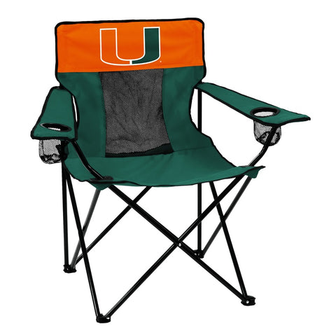 "Miami Hurricanes Sports Towel with Grommet and Hook - 16"" x 25"""