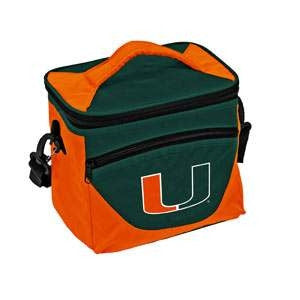 Miami Hurricanes 24 Can Cooler - CanesWear at Miami FanWear Tailgate Logo CanesWear at Miami FanWear