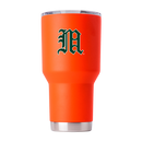 "Miami Hurricanes Miami Vault ""M"" 30 oz Tumbler - Orange"