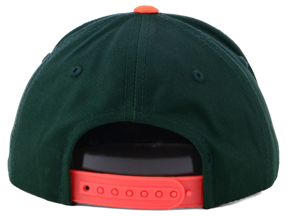 Miami Hurricanes Top of the World Youth Maverick Snapback Cap
