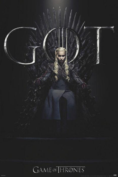 Game of Thrones Daenery's Throne 24x36 Poster