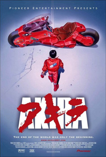 "Akira 2001 Movie Poster, US Version, (24""x36"")"