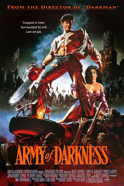 Army of Darkness Classic Movie Poster, US Version, size 24x36