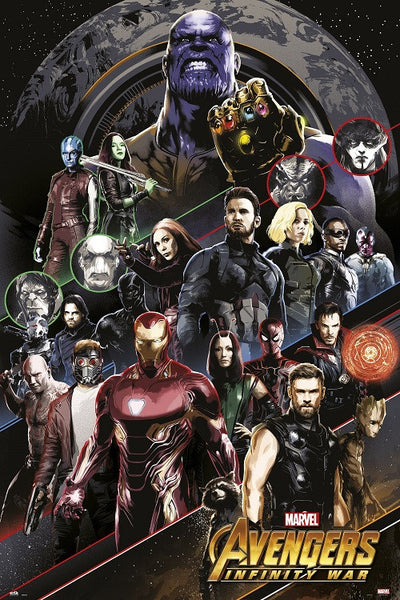 Avengers - Infinity War - All Characters
