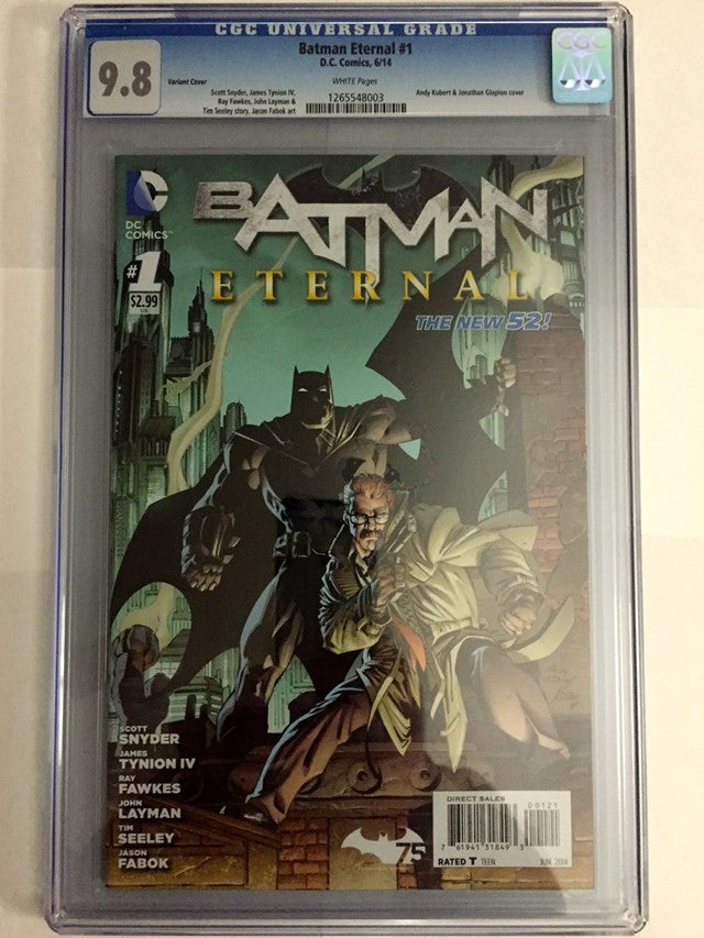 Batman Eternal #1 Variant Covers - CGC