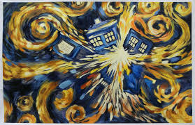 Dr. Who Exploding Tardis 24x36 Poster