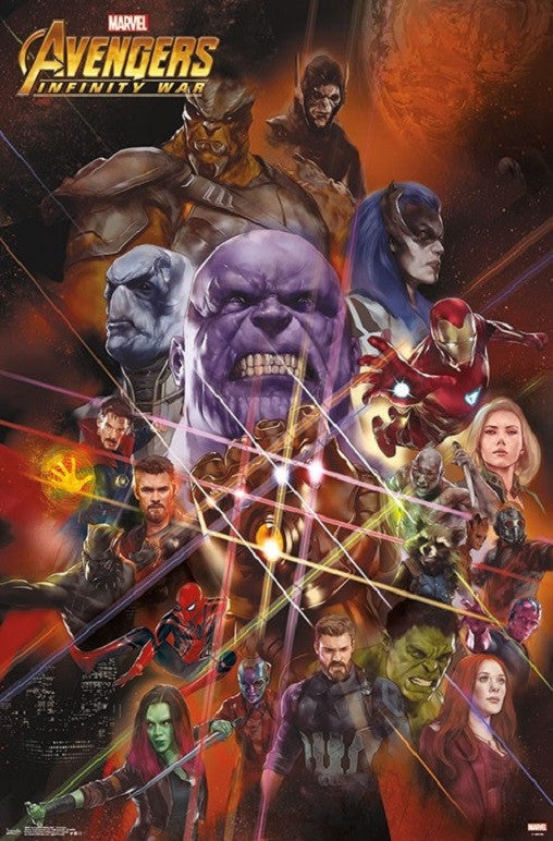 Infinity War - Universe Poster