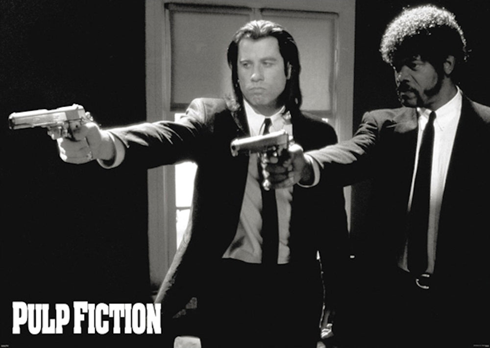 Pulp Fiction - B/W
