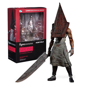 Red Pyramid Thing Figure