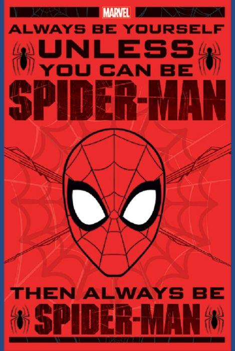 Spider-Man Always be Yourself Poster 24x36