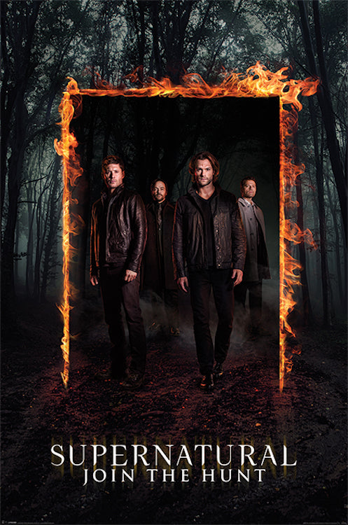 Supernatural Burning Gate Poster 24x36