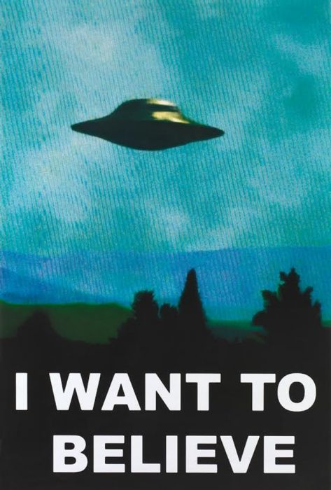 X Files - I Want To Believe TV Show 24x36 Poster