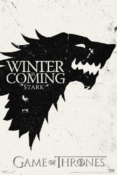 Game of Thrones Winter is coming 24x36 Poster