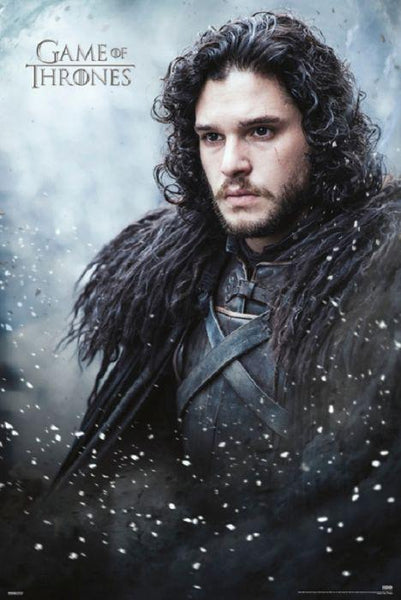 Game of Thrones Jon Snow HBO Show 24x36 Poster