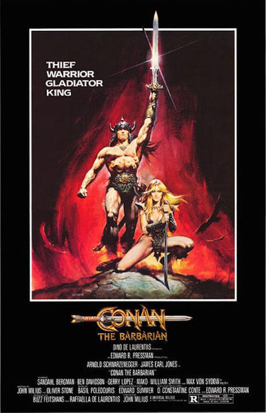 "Conan the Barbarian (1982) Movie Poster 24""x36"""