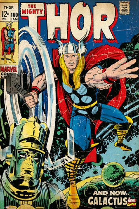 Thor Marvel Comic Cover Issue 12, 24x36 Poster