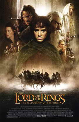 Lord of the Rings: The Fellowship of the Ring Movie Poster 11x17