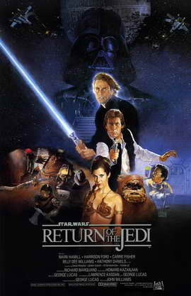 Return of the Jedi 11x17 Movie Poster