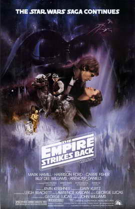 The Empire Strikes Back 11x17 Movie Poster