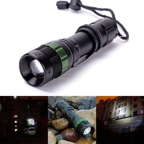 FREE 3,000 Lumen Zoomable LED Flashlight
