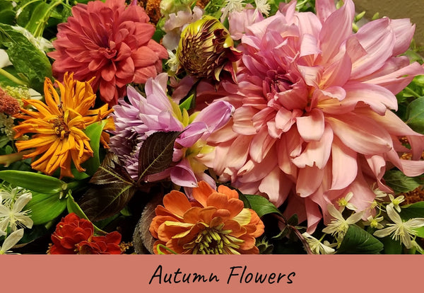 Fall Wedding Flowers at Five Petal Farm