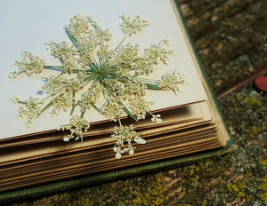 Pressed Queen Anne's Lace - Size Large