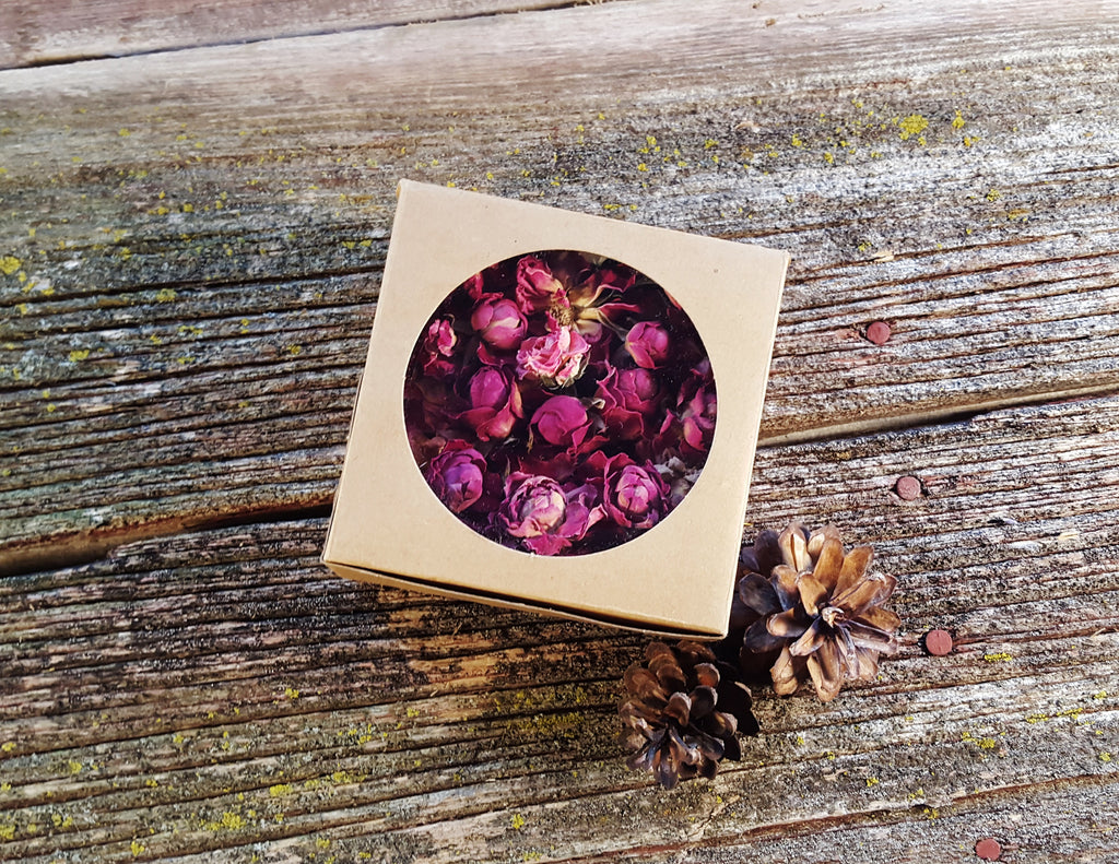 Dried Pink Rose, Whole