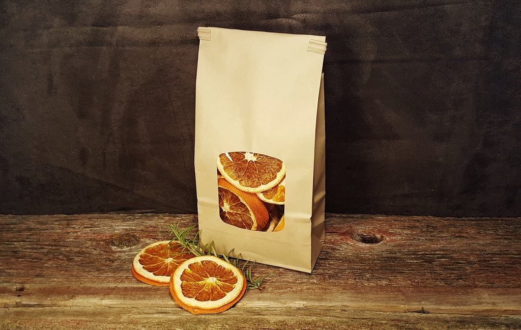 Dried Orange Peel Slices