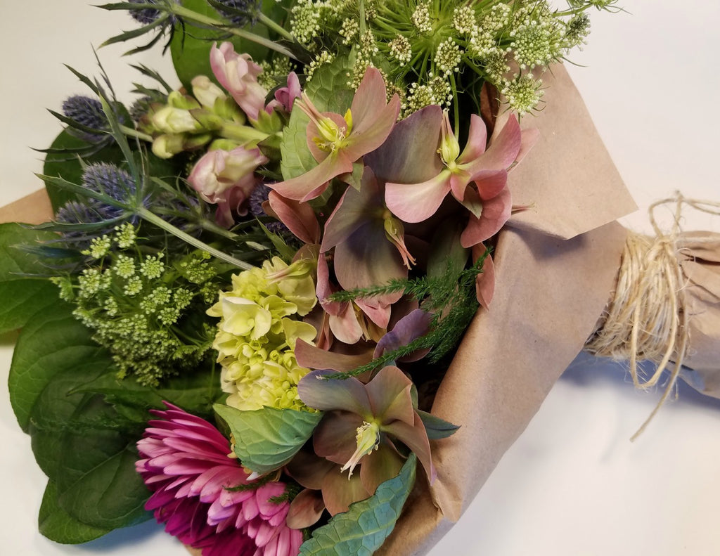 Wrapped Flower Bouquet CSA Custom Share (4 Deliveries)