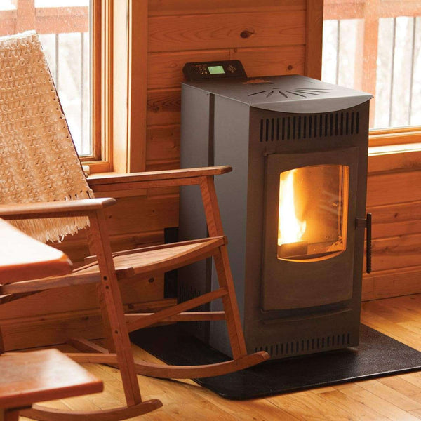 Castle Serenity Wood Pellet Stove 1,500 sq. ft. Used