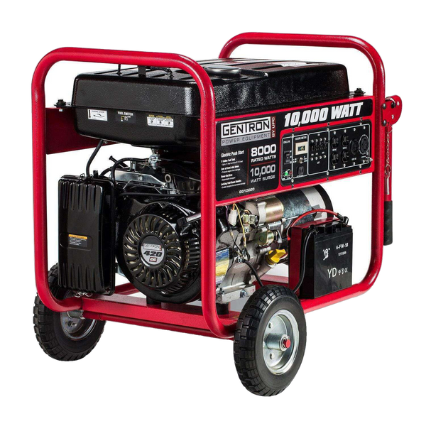 Gentron GG10020 8000W/1000W Electric Start Portable Gas Generator New