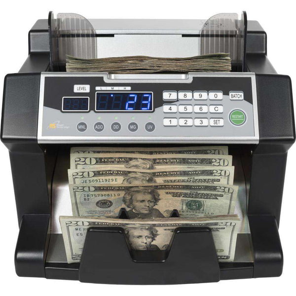 Royal Sovereign RBC3100 Elect Bill Counter with Counterfeit Detection 1200 Bills/Min New