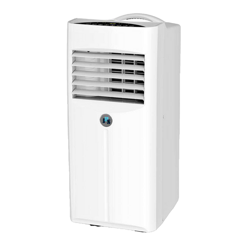 JHS A001-10KR/D 10,000 BTU Portable Air Conditioner with Dehumidifier and Remote White New