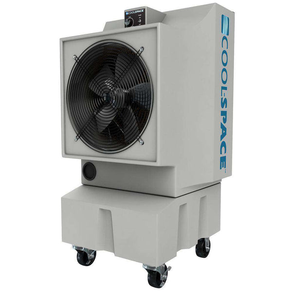 Cool-Space CS5-18-VD GLACIER18 Series 2825 CFM 1200 sq ft 12 Speed 18 Inch Portable Evaporative Cooler New
